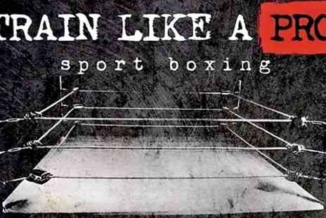 Train Like a Pro Events -   One  adult tickets to Train Like a Pro white collar boxing event  - Save 0%