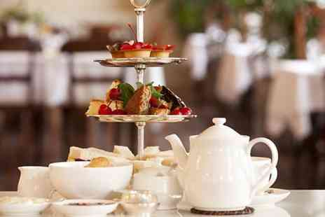 Aroma Cafe Bar - Prosecco Afternoon Tea For Two  - Save 29%