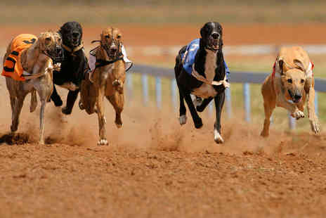 Doncaster Greyhound Stadium - Greyhound Racing with Race Card, Curry, Chips, and Drink Each for Two  - Save 67%