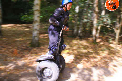 SegRally - 30 Minute Weekday Segway Experience for One   - Save 42%