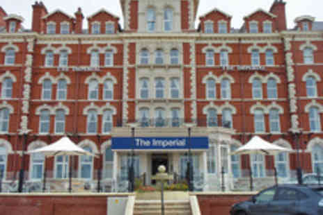 The Hotel Collection - Blackpool Seafront Dining Break for Two with Three Course Meal and Wine - Save 0%