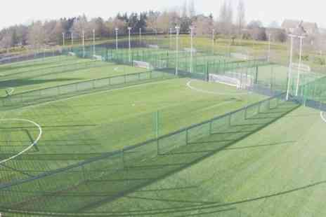 New River Sport & Fitness - One Hour Hire of Five a Side Football Pitch  - Save 83%