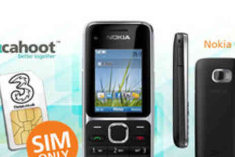 Incahoot - Unlocked Nokia C2 01 handset with a sim only plan - Save 87%