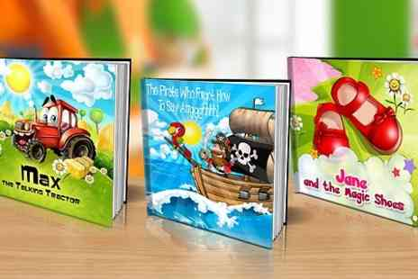 Dinkleboo - Personalised Story Book with Soft or Hard Cover  - Save 60%