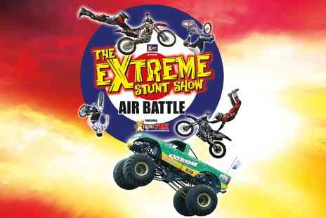 Extreme Stunt Show - Extreme Stunt Show Air Battle Ticket With Brochure  - Save 53%