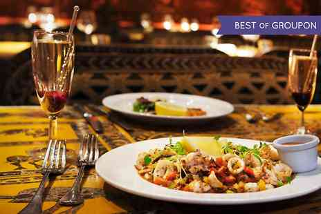 Shaka Zulu - Three Course Meal With Champagne Cocktail  - Save 62%