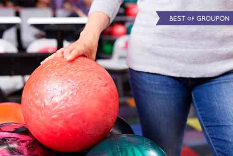 M & D s Theme Park - Bowling and Mini Golf For Four  - Save 51%