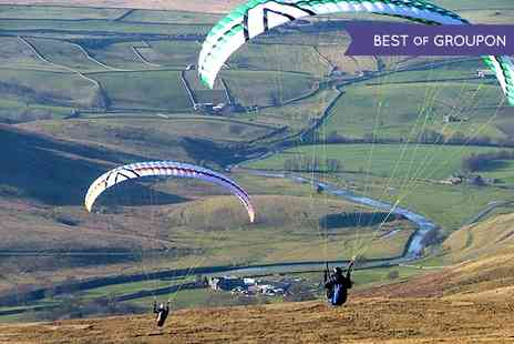 SunSoar Paragliding  - Solo Paragliding Taster Experience For One  - Save 55%