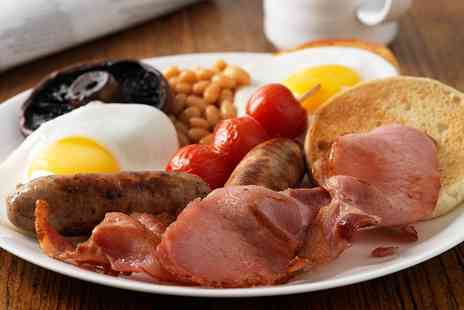 Dukeys Steakhouse - Breakfast With Hot Drink For Two - Save 0%