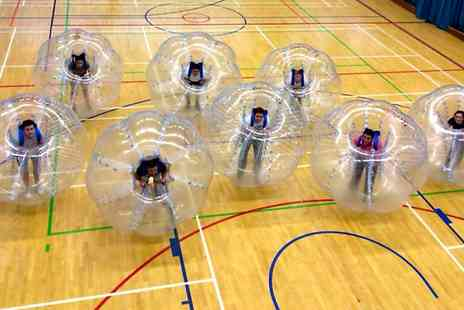 Bubble Kickz - 60 Minute Zorb Football Match For Up to 15 - Save 0%