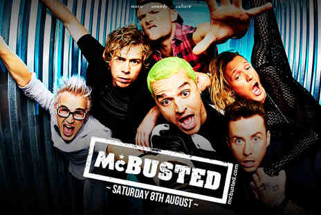 Cuffe and Taylor Event Management - VIP ticket package for two to see McBusted live  on 8th August 2015 - Save 62%