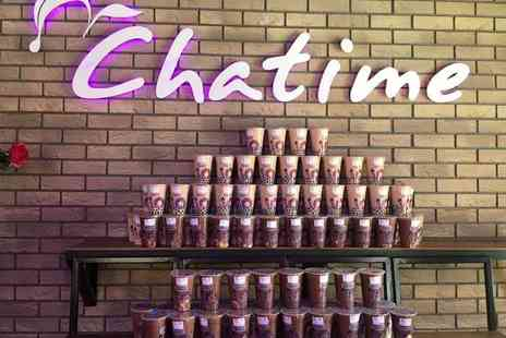 Chatime - Smoothie or Fruit Tea for Two - Save 50%