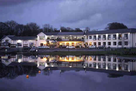 Lakeside Manor Hotel - One Night Stay for Two, with Full Irish Breakfast Daily, Bottle of Wine if Dining, and Late Checkout - Save 0%