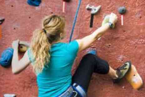 Awesome Walls - Introduction to Rock Climbing for Two - Save 62%