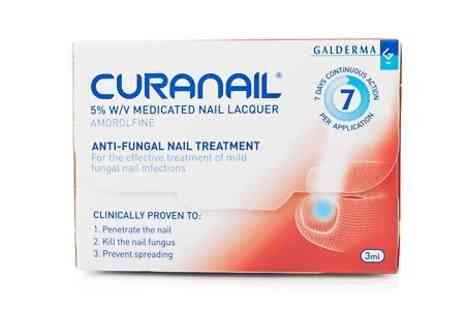 Chemist4U GB - Curanail 5% Nail Lacquer For Nail Fungus  - Save 30%