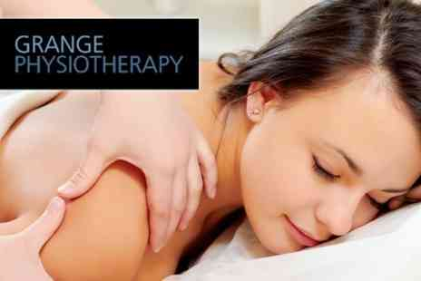 Grange Physiotherapy - Deep Tissue Sports Massage and Consultation for £14 - Save 82%