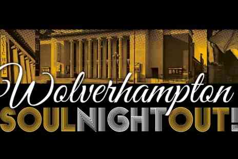Gold Soul -  Two Tickets to Wolverhampton Soul Night  - Save 50%