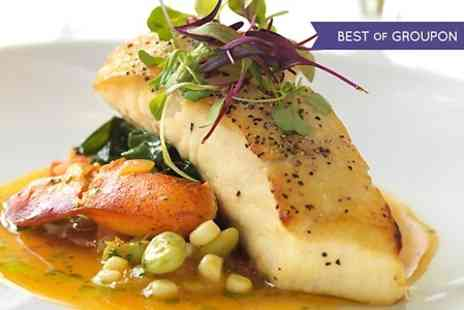Oldfields Eating House - Two Course Meal With Glass of Wine For Two or Four  - Save 60%