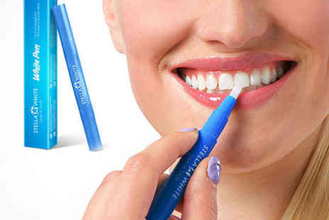 Stella White - One Stella White Teeth Whitening Pen - Save 87%