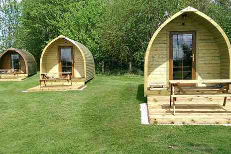 Yapham Holds Farmhouse - Three or Four nights stay glamping in a pod for up to Three  - Save 53%