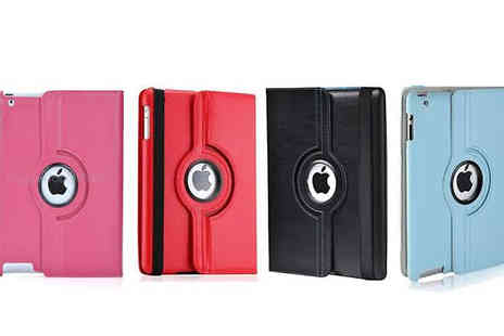 Online goods - Rotating Flip Case for iPad 2/3/4 - Save 87%