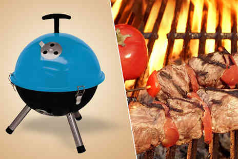 luxury bed and warehouse - Portable Mini Kettle BBQ - Save 75%