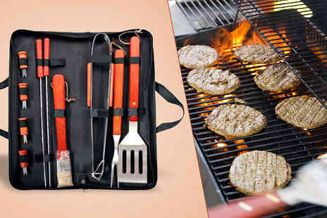 luxury bed and warehouse - Six Piece BBQ Utensil Set - Save 72%