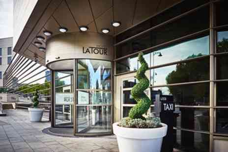 Hotel La Tour -  Birmingham Central Overnight  Stay with Afternoon Tea & Prosecco - Save 53%