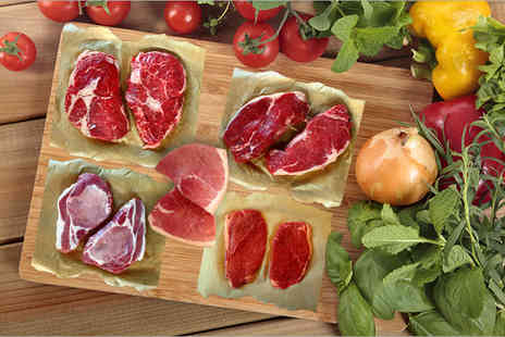 Market Porter  - Luxury summer steak selection including beef, pork and gammon - Save 44%