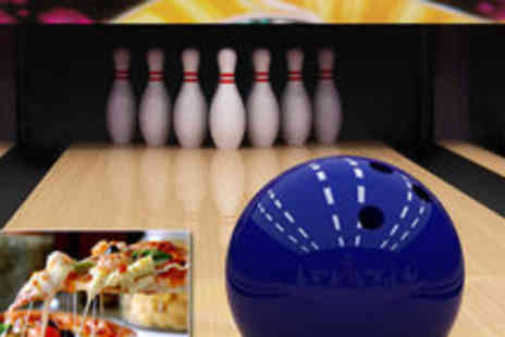 Corn Exchange Village - One hour bowling for six and a pizza - Save 72%