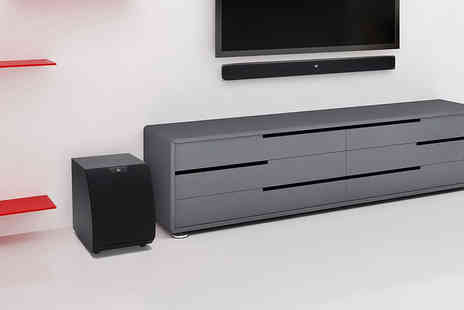 Kondor  - KitSound Upstage soundbar with optical HDMI and wireless subwoofer - Save 41%