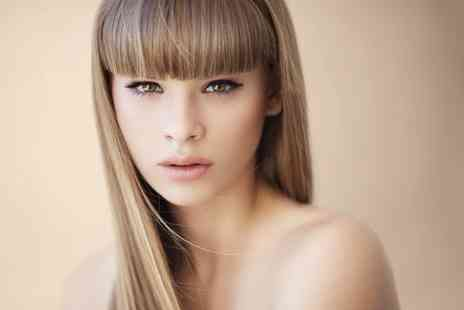 P G Studio - Cut, Conditioning and Blow Dry  With Highlights - Save 63%