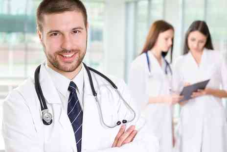 UK Health Screening - Health MOT Plus GP Service  - Save 74%
