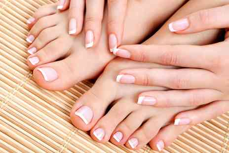 Ludlows Nspa - Spa Manicure or Pedicure or Both  - Save 53%
