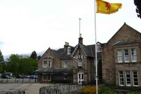 Huntly Arms Hotel - One to Three Nights Stay For 2 With Breakfast, Dinner And Wine  - Save 0%