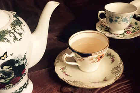 Lazy Lounge - Saturday Afternoon Tea with Gin Punch to Share for Three or Four People - Save 46%