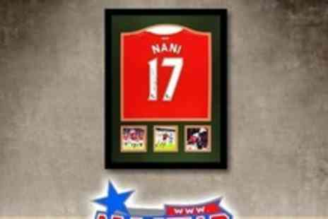 All Star Signings - Manchester United Shirt Signed By Nani  - Save 63%