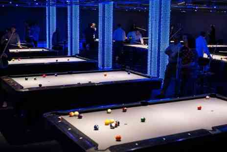 Marcos Pool Hall - Two  Hours of Pool for 2 with Drinks - Save 55%