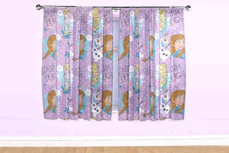 Divinity Fashion - Disney Frozen Curtains - Save 47%