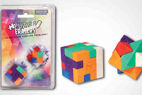 Unusual Giftz - Two Puzzle Erasers - Save 13%