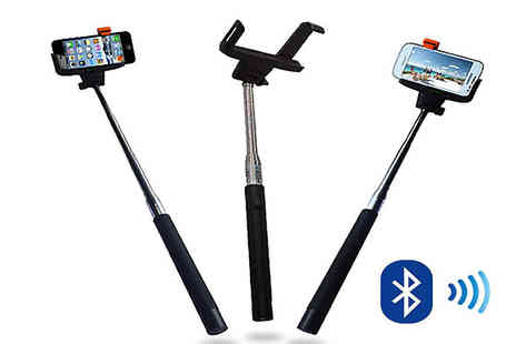 We can make it - Selfie Stick with Bluetooth Button - Save 71%