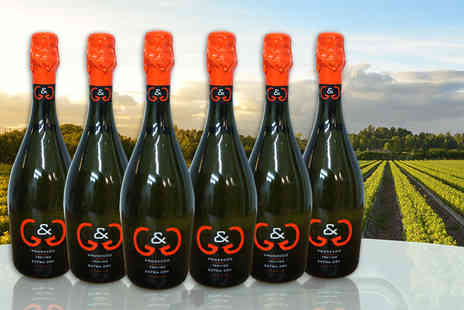Wine Online - Six bottles of G&G Prosecco - Save 56%
