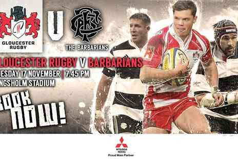 Barbarians - Adult Ticket to Barbarians v Gloucester Rugby - Save 32%