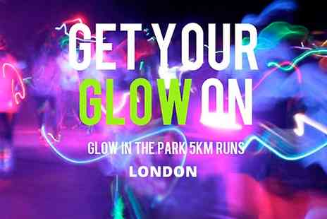 Glow in the Park - Entry to Glow in the Park 5km Night Run - Save 20%
