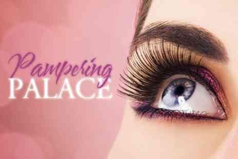 Pampering Palace - Full Set of Individual Lashes for £38 - Save 75%