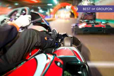 Indoor Super Karting - 30 Laps of Go Karting - Save 60%