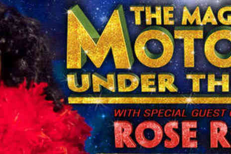 The Magic of Motown Under - One Tickets to The Magic of Motown Under the Stars - Save 43%