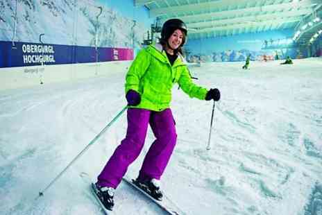 Hemel Snowcentre - Twelve Hours of Adult Ski or Snowboard Lessons  - Save 0%