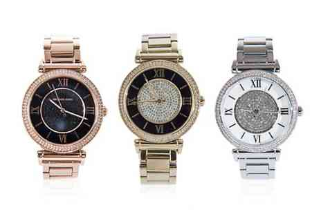 I Love watches - Michael Kors Ladies Watch in Choice of Design With Free Delivery  - Save 33%