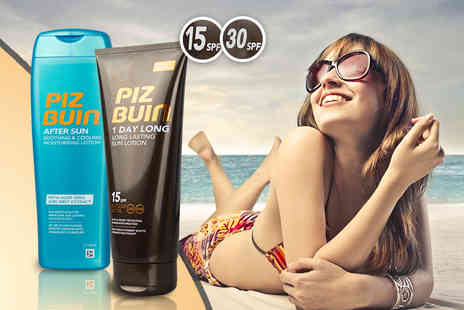 Fragrance Mad - Two piece Piz Buin sun care bundle in SPF 15  - Save 61%